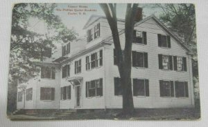 Veazey House Phillips Academy Exeter New Hampshire Vintage Postcard
