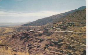 Ghost town, tourist attraction in Jerome, Arizona,1940-1960s