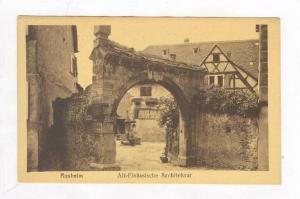 Alt-Elsassische Architektur, Rosheim (Strasbourg), Bas Rhin, France, 1900-1910s