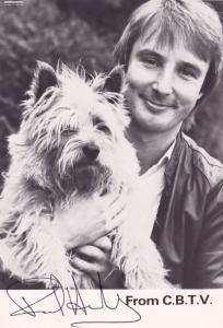 Paul Henley CBTV 1980s Thames TV Childrens News Show Hand Signed Photo