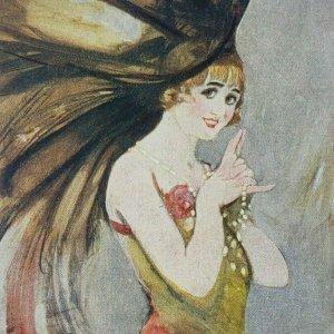 Gaby Deslys French Silent Film Theatre Actress Dancer Singer Suzette Postcard 92
