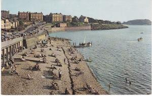 Post Card Somerset CLEVEDON from pier [used]