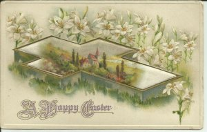 A Happy Easter -- Embossed