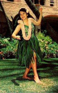 Hawaii Honolulu Graceful Island Dancer