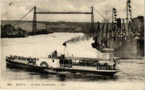 CPA ROUEN-Le Pont Transbordeur (348461)