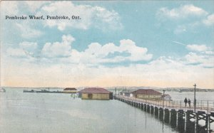 PEMBROKE , Ontario , Canada , PU-1923 ; Wharf
