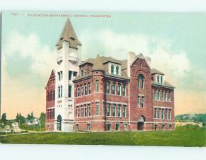 Unused Divided-Back HIGH SCHOOL Olympia Washington WA k0191-12