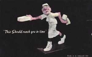 This Should reach you in time, Sculpture of Speed the nurse, Dr. H.D. Nib...