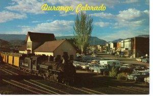 US    PC3710 NARROW GAUGE TRAIN, DURANGO, CO
