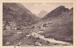 Cabanes De Tramezaigues Et Pic Du Midi, Bagneres De Bigorre (Hautes-Pyrénée...