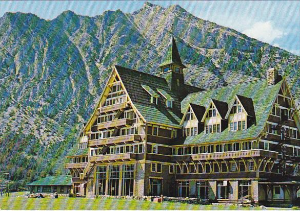 Canada Prince Of Wales Hotel Waterton Lakes National Park Alberta