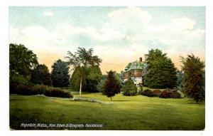 MA - Hopedale. Hon. Eben S. Draper's Residence