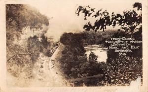Noel And Elk Springs Missouri Narrow Scenic Real Photo Antique Postcard K101127