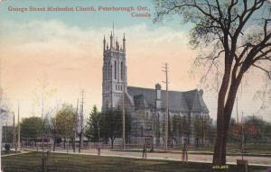 Scenic view,  George Street Methodist Church,  Peterborough,   Ontario,  Cana...