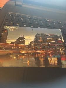 Vtg Postcard: Munchen Munich Olympic Rings