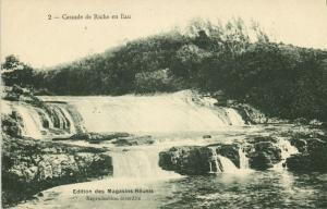 mauritius maurice, Cascade de Riche en Eau, Waterfall (1910s)