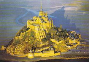 France Le Mont Saint-Michel Aerial View