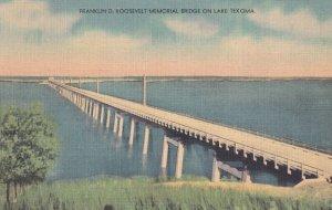 Between DURANT And MADILL, Oklahoma, 1930-1940s; Franklin D. Roosevelt Memori...