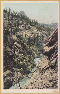 South Boulder Creek Canyon, Above Moffatt Lake Station, Colorado c1906 - 1910
