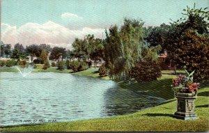 Minnesota St Paul Lake In Union Park Rotograph