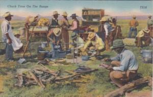 Cowboys Chuck Time On The Range