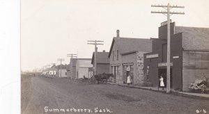 RP: SUMMERBERRY , Saskatchewan, Canada; 00-10s ; Main Street