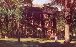 ME - Brunswick. Bowdoin College, Massachusetts Hall (now the Bursar's Office)