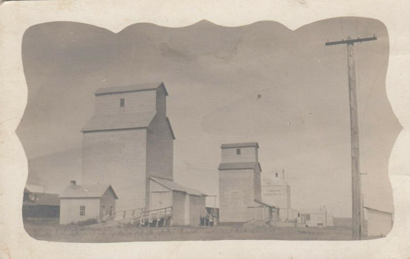 Saskatchewan ,1900-10s ; Canadian Elevator Co. Elevators