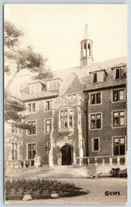 Chestnut Hill MA~Sanatorium of Christian Science Benevolent Assn~1934 RPPC