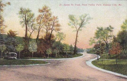 Missouri Kansas City Sante Fe Trail Penn Valley Park