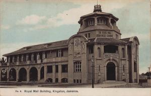 Royal Mail Building, Kingston, Jamaica, Early Postcard, Unused