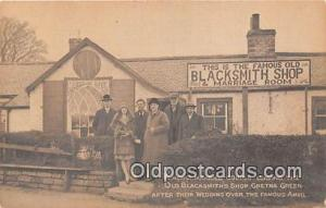 Old Blacksmith's Shop Gretna Green, Beteen England & Scotland Postcards Post ...