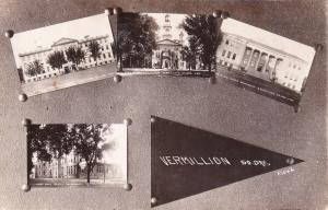 VERMILLION , South Dakota , 00-10s ; RP: 4-view postcard