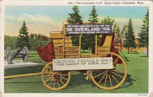 Wyoming Cheyenne The Overland Trail Stage Coach