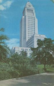 Los Angeles City Hall, California, unused Postcard