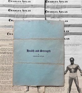 Charles Atlas Health & Strength Course Lessons 2-12 + Exercises to Keep You Fit