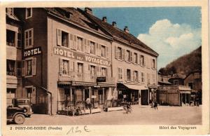 CPA PONT-de-ROIDE - Hotel des Voyageurs (183695)