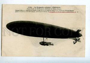 205548 FRANCE AVIATION airship dirigible FLEURUS Hauser #1705
