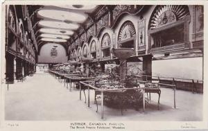 RP; Interior, Canadian Pavilion, The British Empire Exhibition, Wembley, Midd...