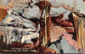 Virginia New Market Endless Caverns The Frozen Cascades 1950