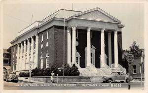 F25/ Klamath Falls Oregon RPPC Postcard c1950s The Elks Club Building