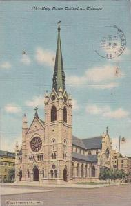 Illinois Chicago Holy Name Cathedral 1943