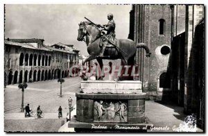 Postcard Modern Padoua Monumento al Generale