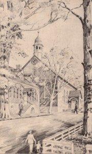North Carolina Winston Salem Home Moravian Church