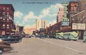 New York Niagara Falls Falls Street Bus Station