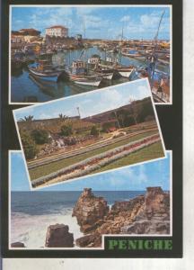 Postal 013824: Vistas varias de Peniche, Portugal