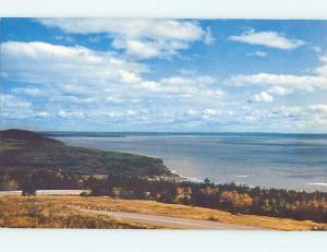 Pre-1980 TOWN VIEW SCENE Alma New Brunswick NB p9616