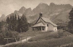 Bozner Dolomiten Karensee Hotel Switzerland Old Postcard