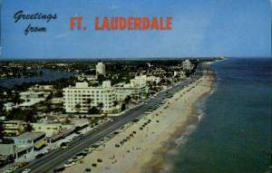 Lauderdale Beach Fort Lauderdale FL 1962