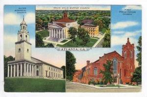 3 Different Views Of Atlanta,Georgia,30-40s